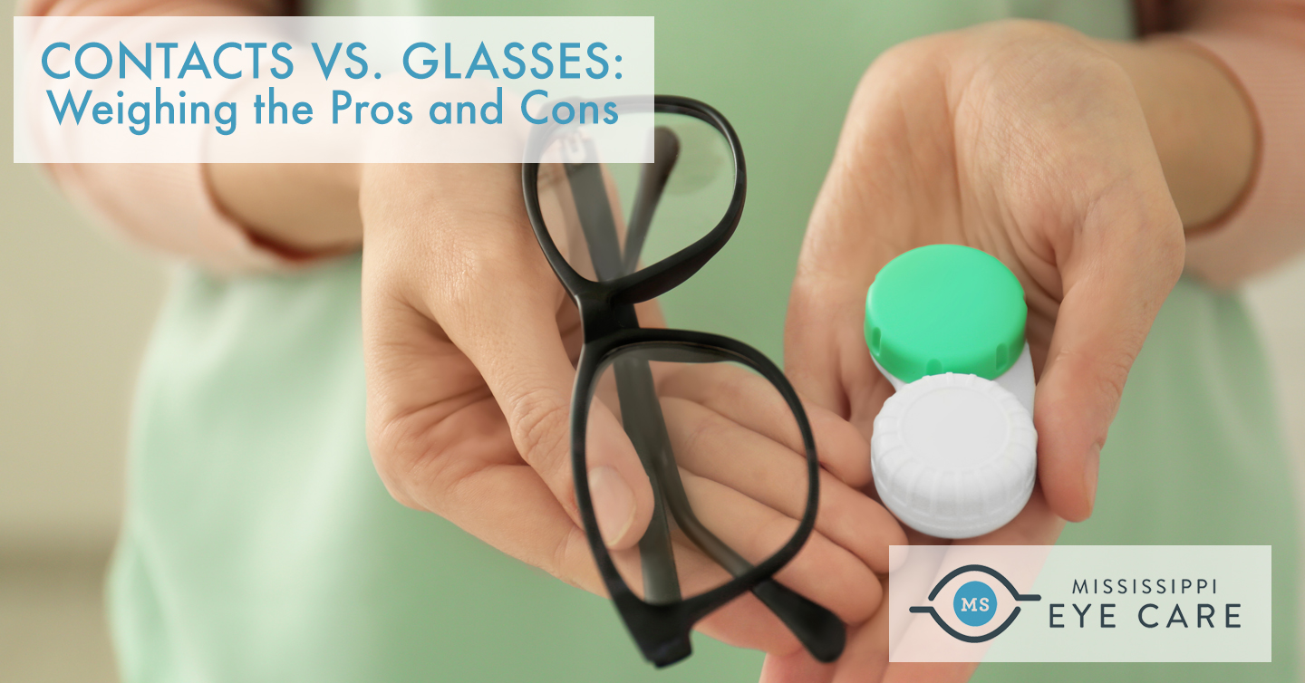 Contacts vs. Glasses: Weighing the Pros and Cons
