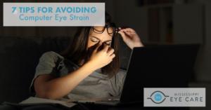 7 Tips for Avoiding Computer Eye Strain