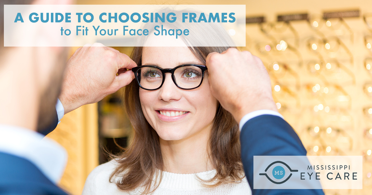 A Guide to Choosing Frames to Fit Your Face Shape