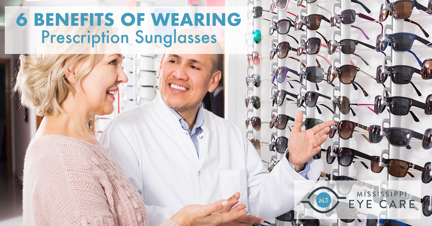 6 Benefits of Wearing Prescription Sunglasses