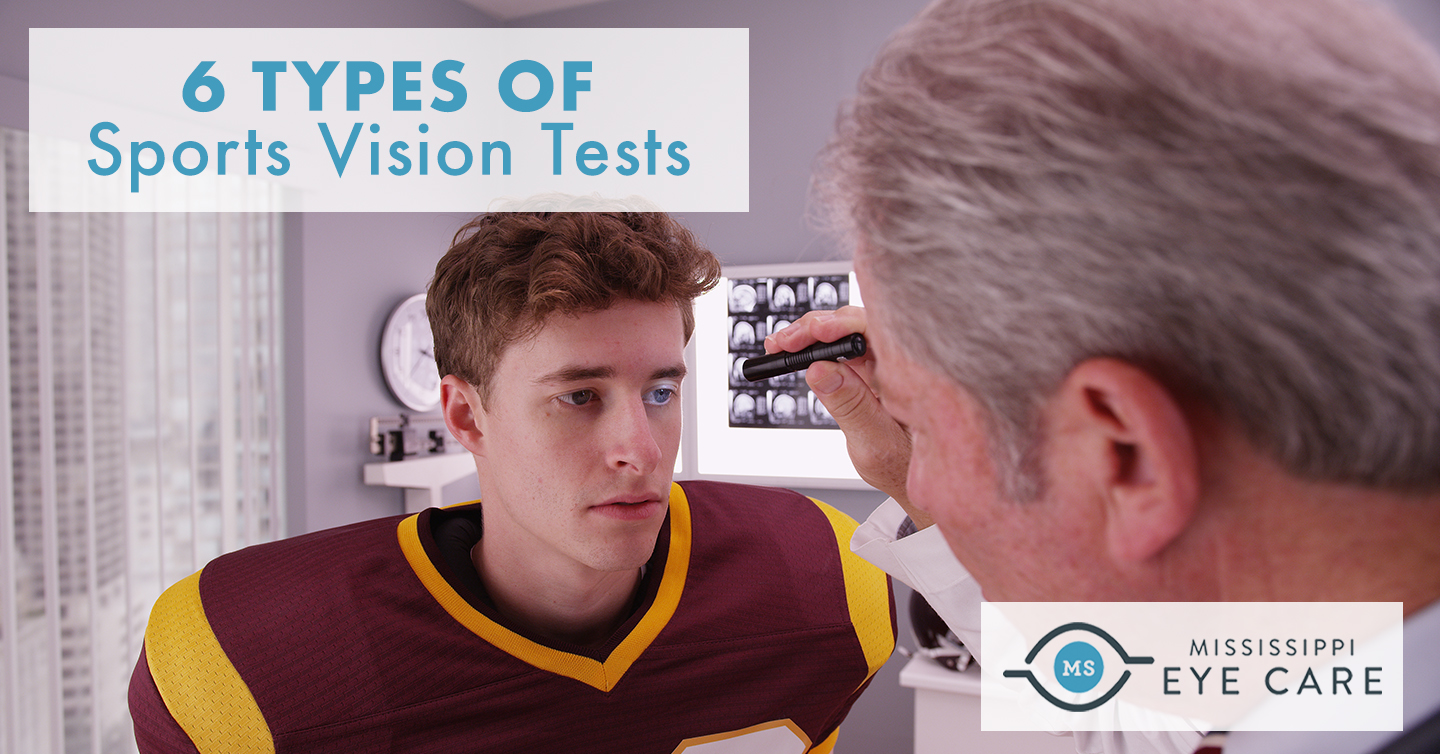 6 Types of Sports Vision Tests