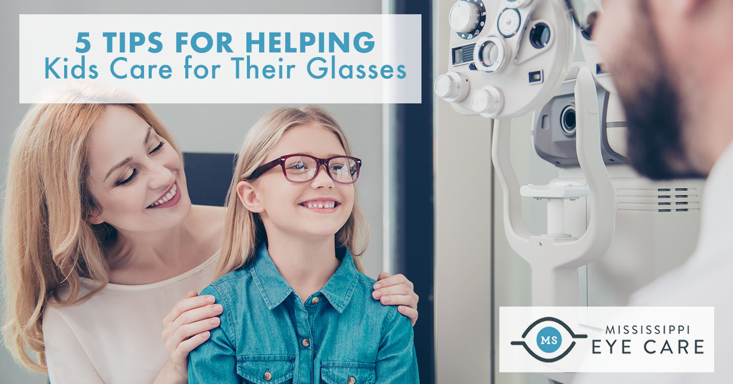 5 Tips for Helping Kids Care for Their Glasses