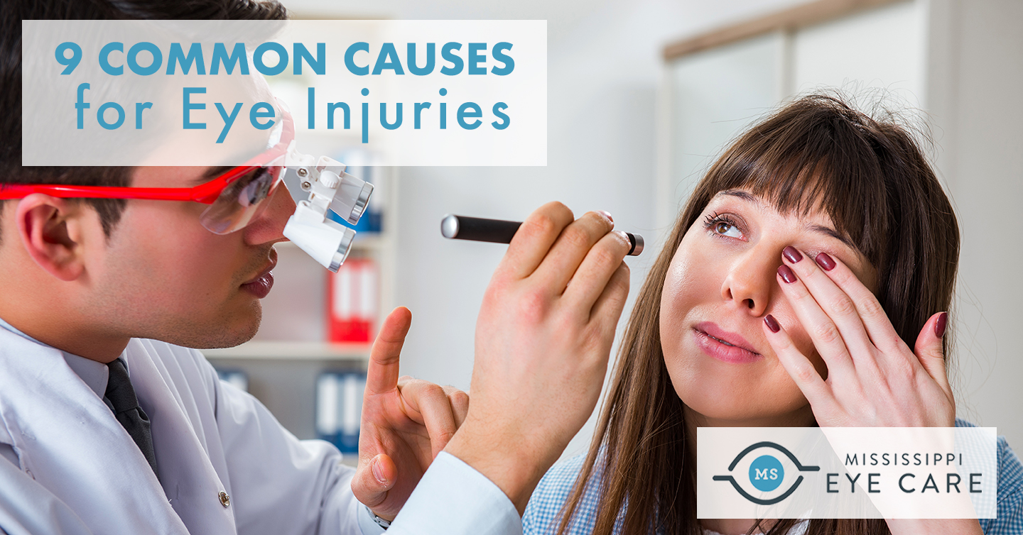 9 Common Causes for Eye Injuries