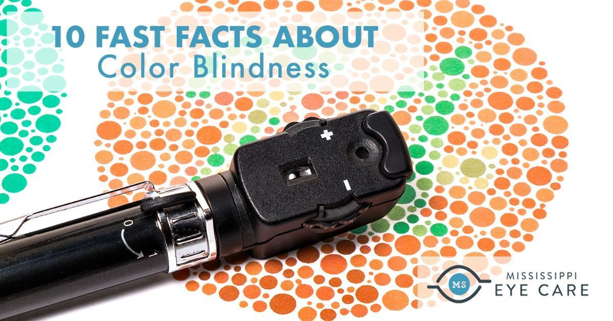 10 Fast Facts About Color Blindness