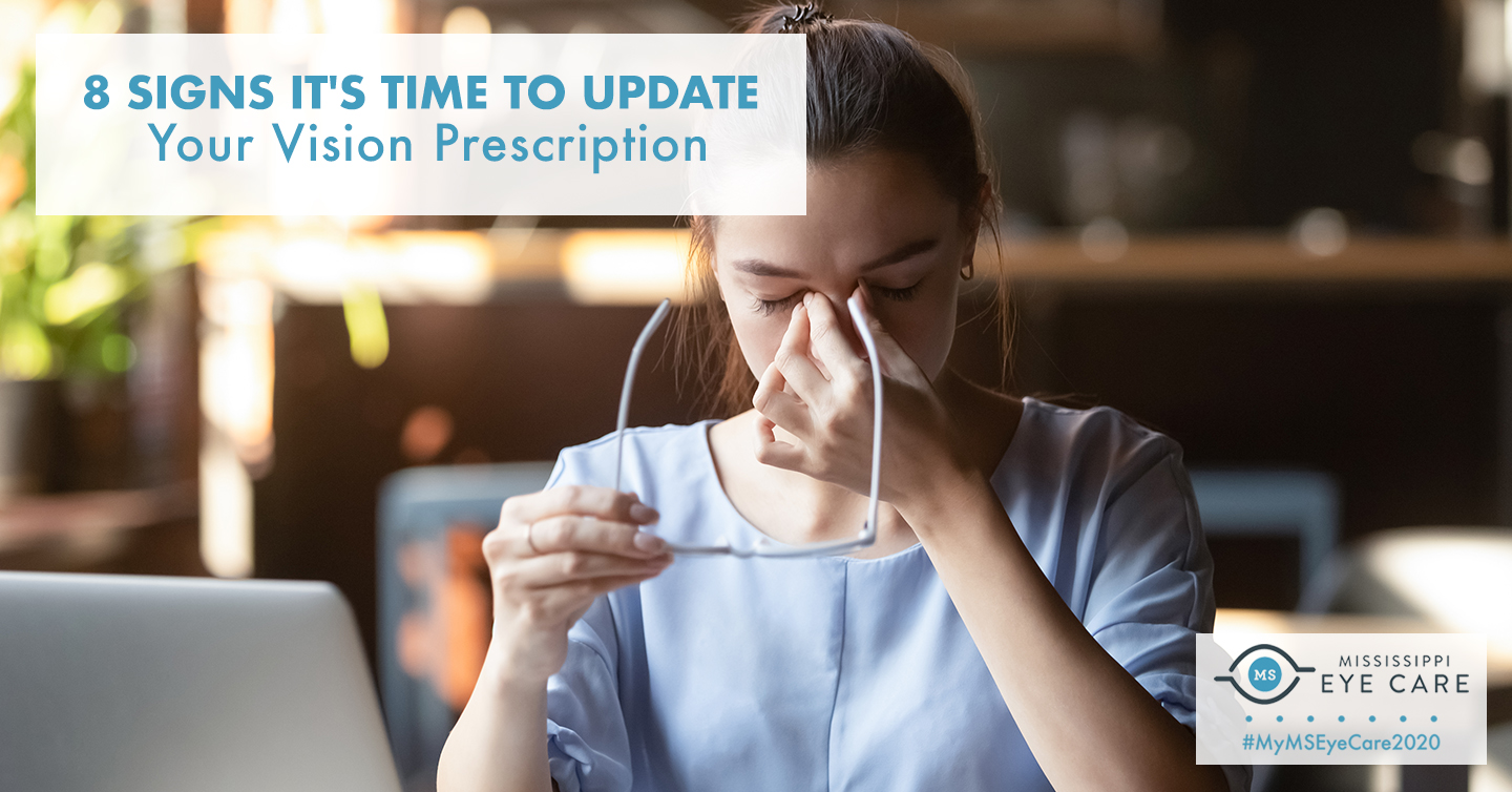 8 Signs It's Time to Update Your Vision Prescription
