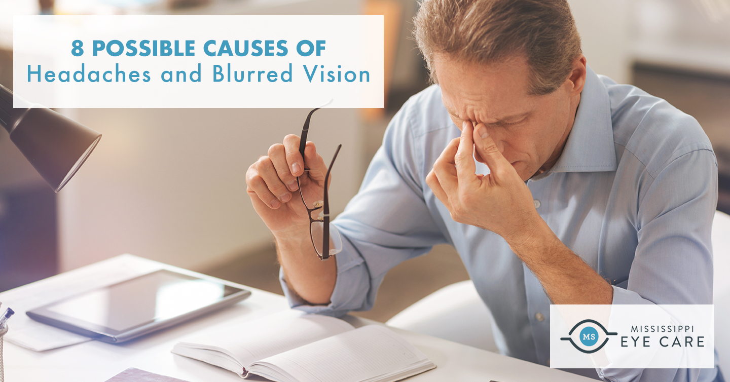 8 Possible Causes of Headaches and Blurred Vision