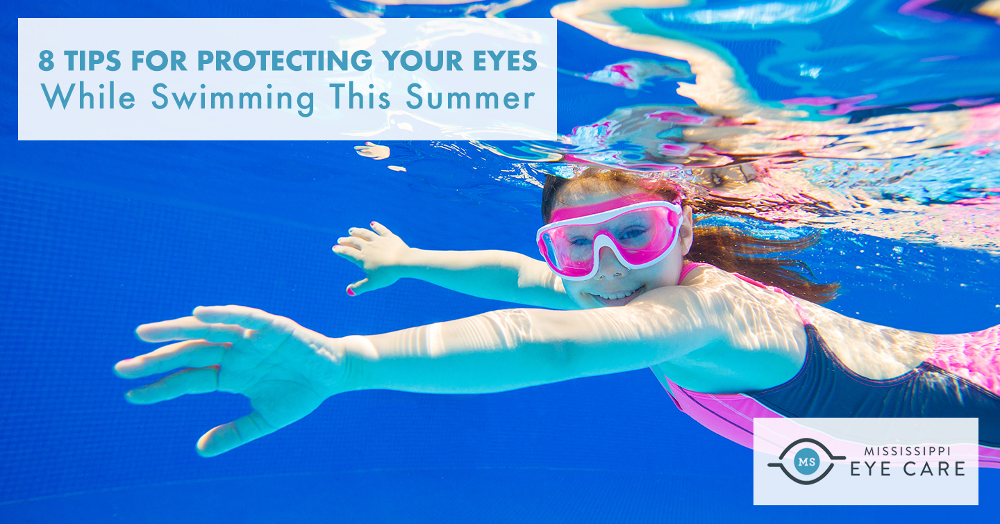 8 Tips for Protecting Your Eyes While Swimming This Summer