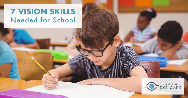 7 Vision Skills Needed for School